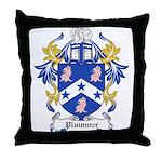 Plummer Coat of Arms Throw Pillow