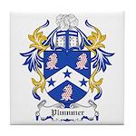 Plummer Coat of Arms Tile Coaster