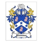 Plummer Coat of Arms Small Poster
