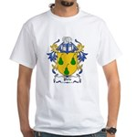 Pirie Coat of Arms White T-Shirt