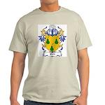 Pirie Coat of Arms Ash Grey T-Shirt