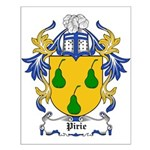 Pirie Coat of Arms Small Poster