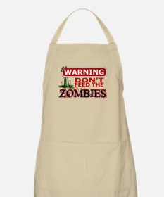 Don't Feed the Zombies Apron
