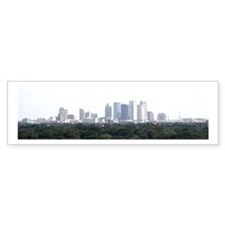 Tampa Bay Skyline Bumper Bumper Sticker