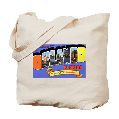 Orlando Florida Greetings Tote Bag