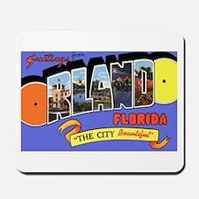 Orlando Florida Greetings Mousepad