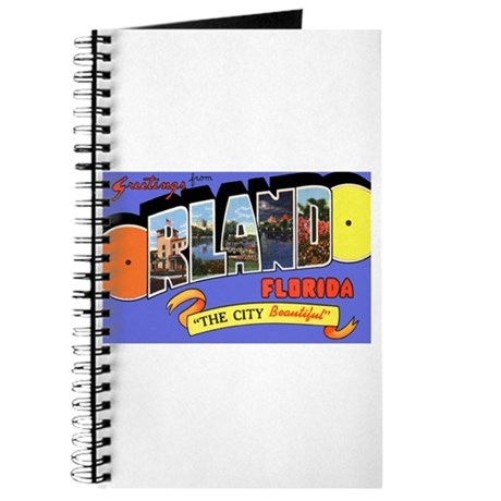 Orlando Florida Greetings Journal