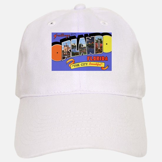 Orlando Florida Greetings Cap