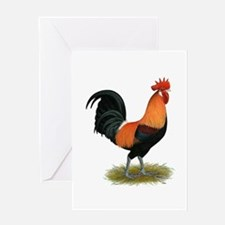 Penedesenca Rooster Greeting Card
