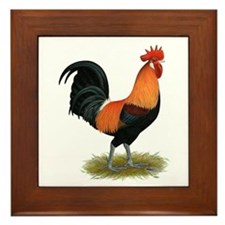 Penedesenca Rooster Framed Tile