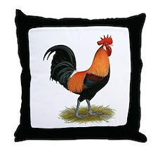 Penedesenca Rooster Throw Pillow