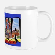 Omaha Nebraska Greetings Mug