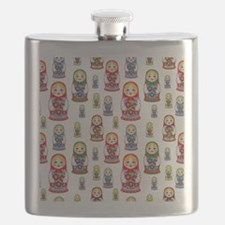 Cute Blond Flask