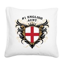 n1_english_aunt.png Square Canvas Pillow