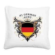 n1_german_aunt.png Square Canvas Pillow