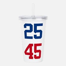 25th Amendment Trump Acrylic Double-wall Tumbler