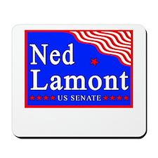 Connecticut Ned Lamont US Senate Mousepad
