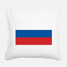 3-flag_russia.png Square Canvas Pillow