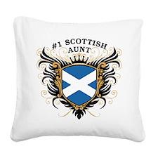 n1_scottish_aunt.png Square Canvas Pillow