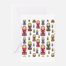 Russian Dolls Greeting Cards