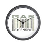 Gas Expensive Political Statement Wall Clock