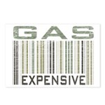 Gas Expensive Political Statement Postcards (Packa