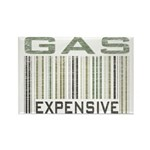 Gas Expensive Political Statement Rectangle Magnet