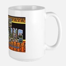 New Orleans Louisiana Greetings Large Mug