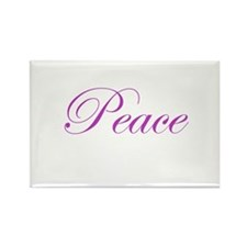 Peace Rectangle Magnet