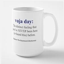 Left-handed vuja day Mug