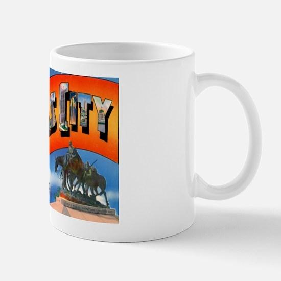 Kansas City Missouri Greetings Mug