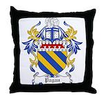 Pagan Coat of Arms Throw Pillow