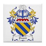 Pagan Coat of Arms Tile Coaster