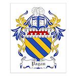 Pagan Coat of Arms Small Poster