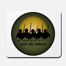 Lest We Forget War Memorial Mousepad