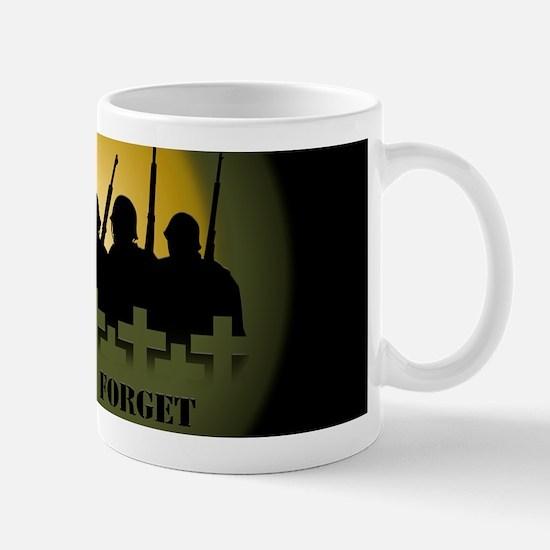 Lest We Forget War Memorial Mugs