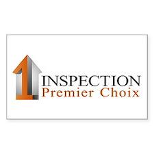 Inspection premier choix Decal