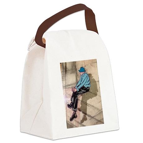Morocco Man Canvas Lunch Bag