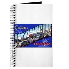 Jacksonville Florida Greetings Journal
