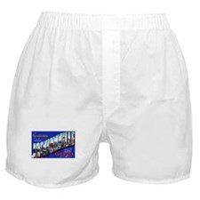 Jacksonville Florida Greetings Boxer Shorts