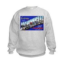 Jacksonville Florida Greetings (Front) Sweatshirt