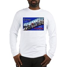 Jacksonville Florida Greetings (Front) Long Sleeve