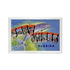 Fort Myers Florida Greetings Rectangle Magnet