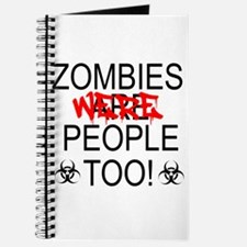 Zombies Were People Too! Journal