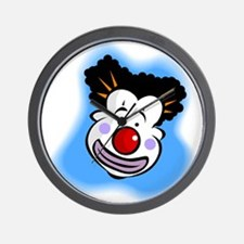 Curly the Clown Wall Clock