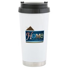 Home with Lisa Quinn Stainless Steel Travel Mug