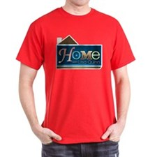 Home with Lisa Quinn Dark T-Shirt