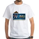 Home with Lisa Quinn White T-Shirt