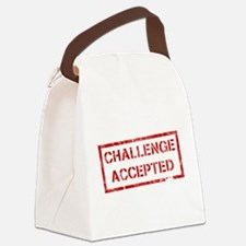 Challenge-Accepted.png Canvas Lunch Bag