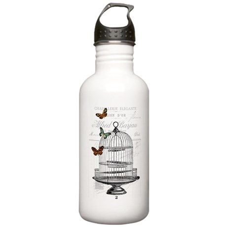 The birdcage Stainless Water Bottle 1.0L